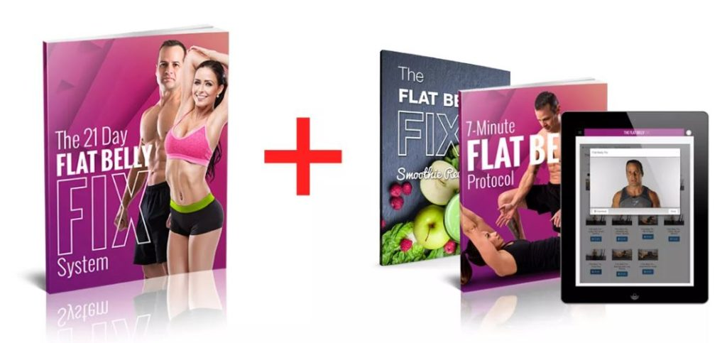 21 Day Flat Belly Fix with Bonuses