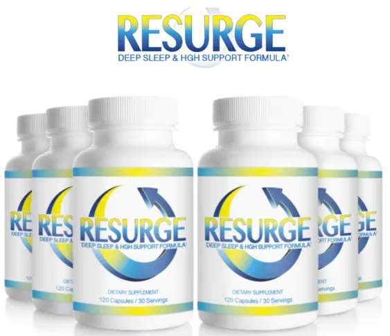 RESURGE for Deep Sleep and HGH Support