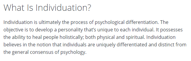 What Is Individuation?