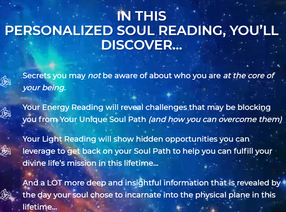 Personalized Soul Reading